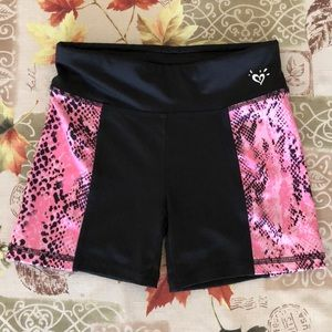 "Girls Justice ""Gymnast"" Performance Shorts"